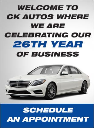 Schedule an appointment at  CK Autos